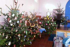 REEF's tree at Colehill Methodist Church Christmas Tree Festival - 2013